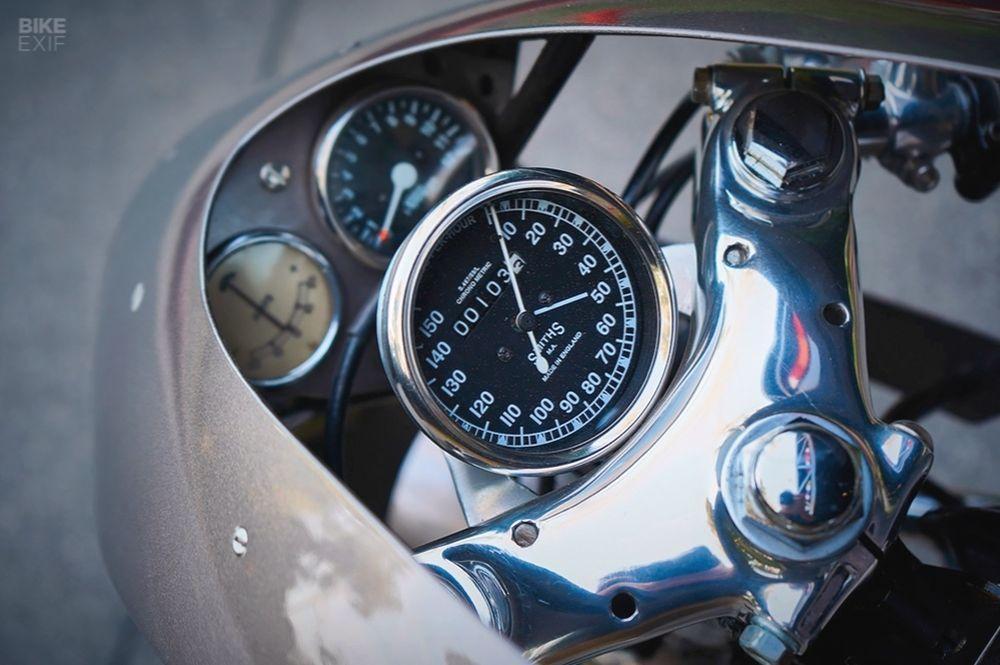 Кафе рейсер Honda CB750 Misfit в исполнении Raccia Motorcycles  VERcity