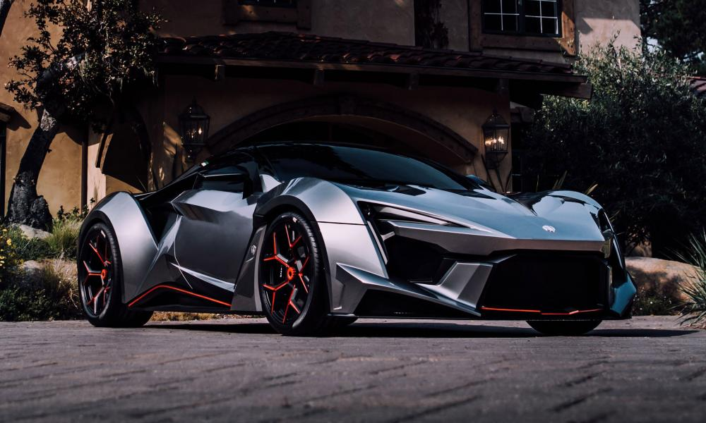 Гиперкар Fenyr SuperSport: сделано в Дубае
