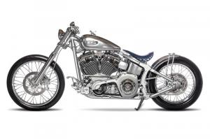 Кастомный H-D: Softail Silver Storm от One Way Motorcycle