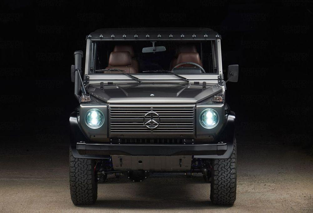 Mercedes-Benz 250 GD Mojave Silver by Expedition Motor Company