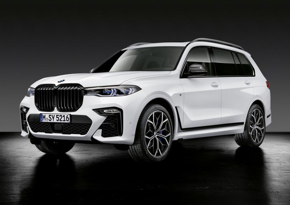 BMW X7 M Performance Parts 2019 года