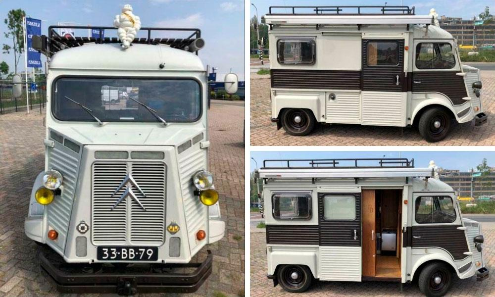 Citroen HY 1600 Camper Van 1977 года