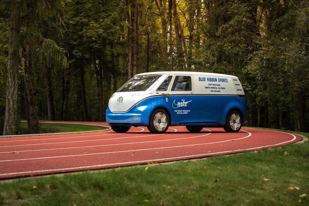 Volkswagen I.D. Buzz Cargo Nike Edition 2019 года