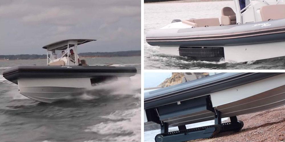 Iguana X100 Amphibious Boat