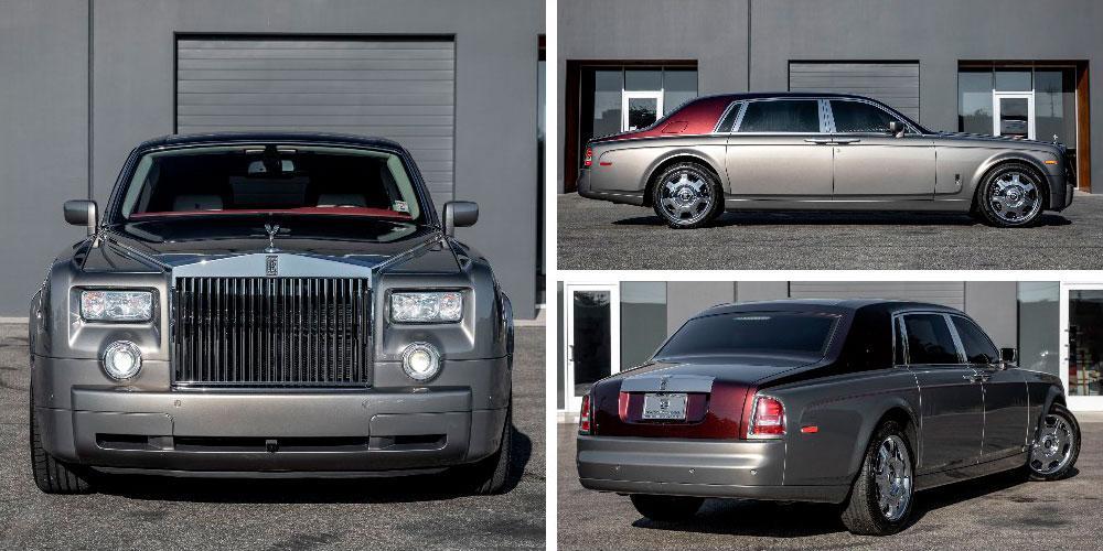 Rolls-Royce Phantom EWB 2007 года