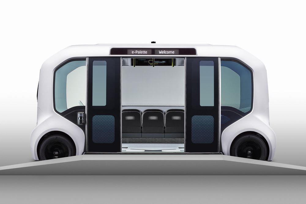 Toyota e-Palette 2019 года