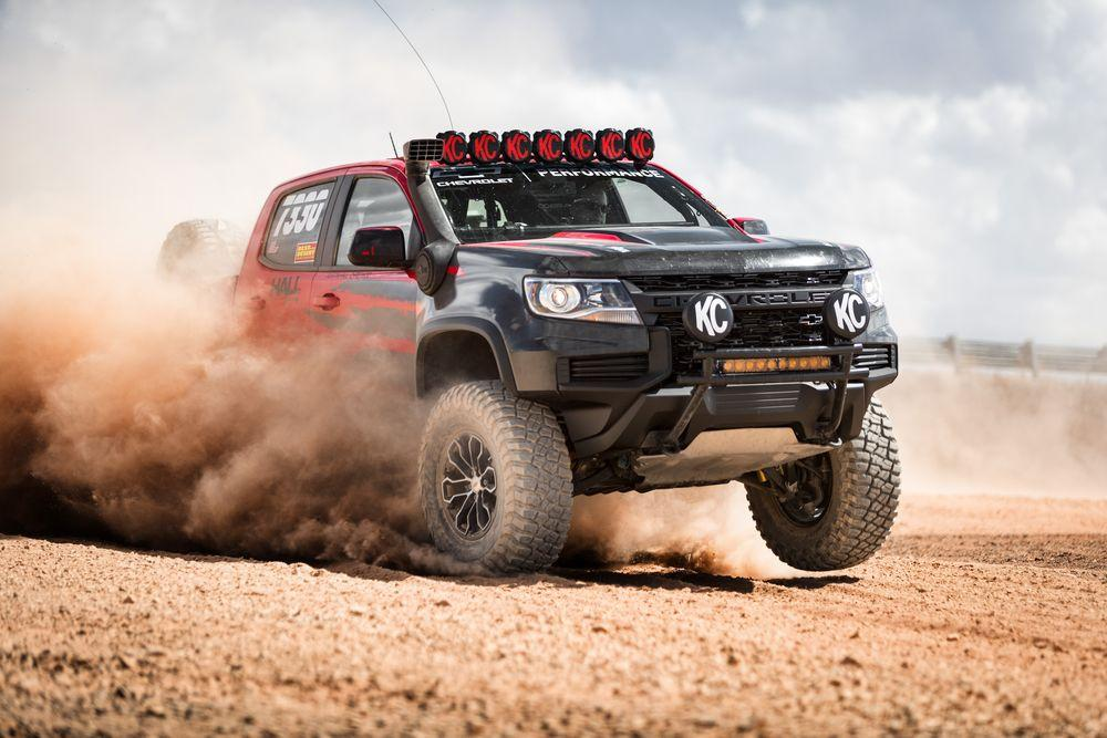 Chevrolet Colorado ZR2 Race Truck 2019 года