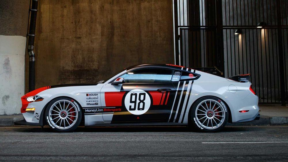 Ford Mustang GT Classic Livery SEMA by Galpin Auto Sports & Roush