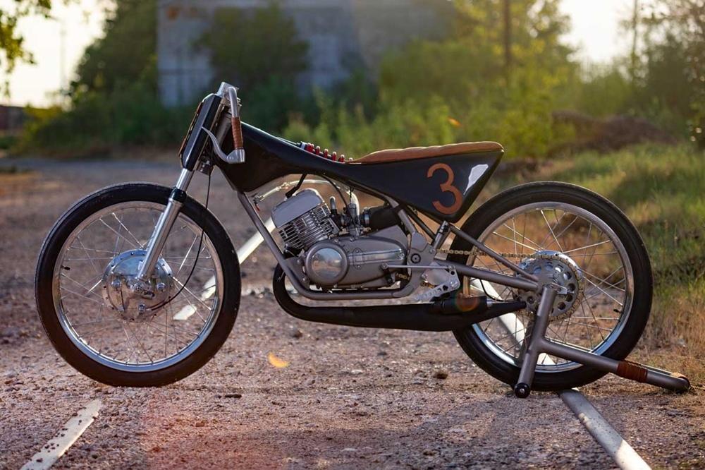 Yamaha RD350 by No Joke 2 Stroke