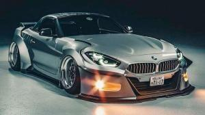 Ещё один из Need For Speed: BMW Z4 Batmobil