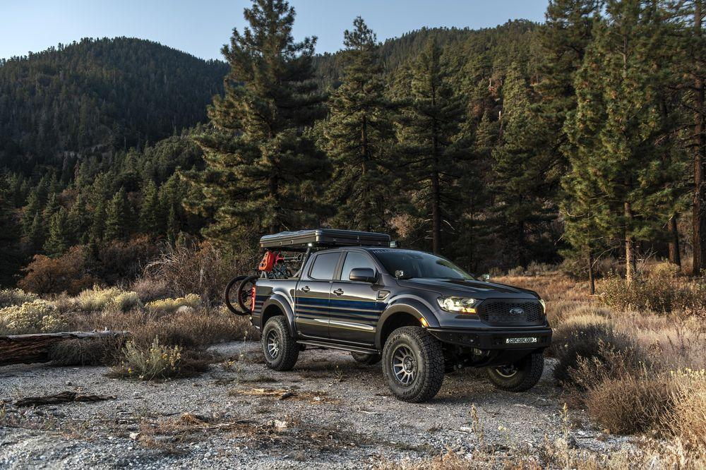 Ford Ranger Attainable Adventure by Hellwig Suspension Products 2019 года