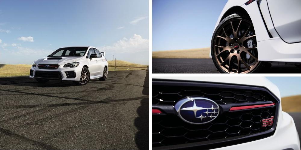 Subaru WRX STI Series.White 2019 года