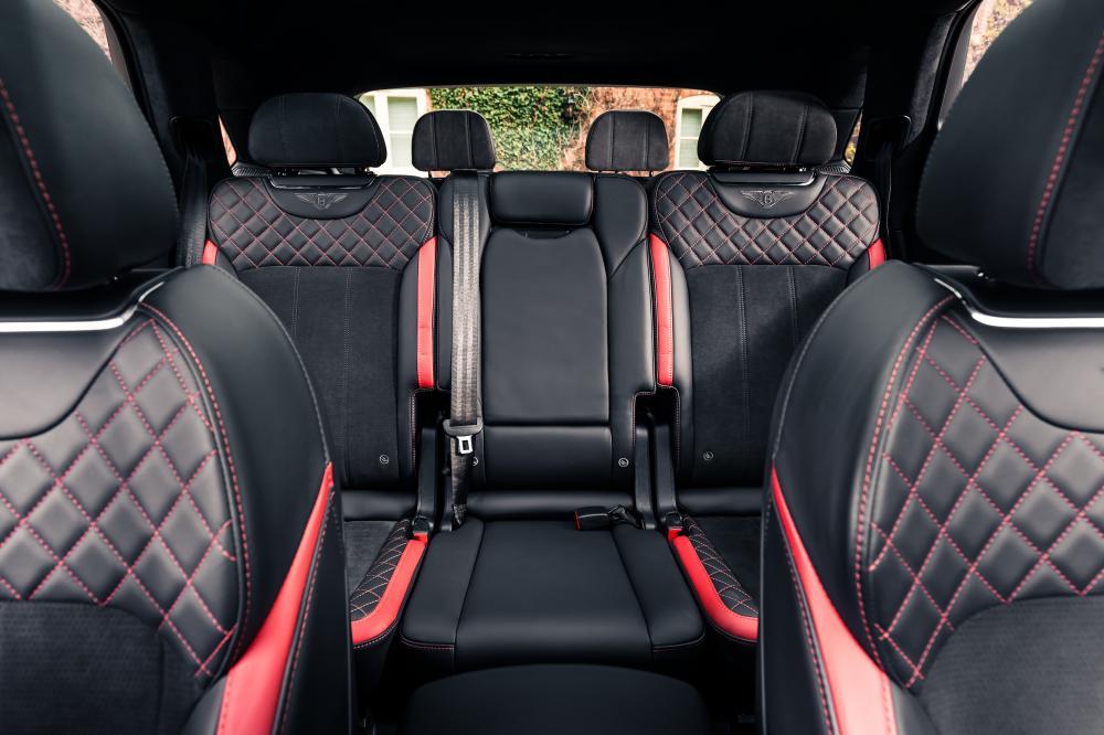 Bentley Bentayga с дополнительным рядом сидений