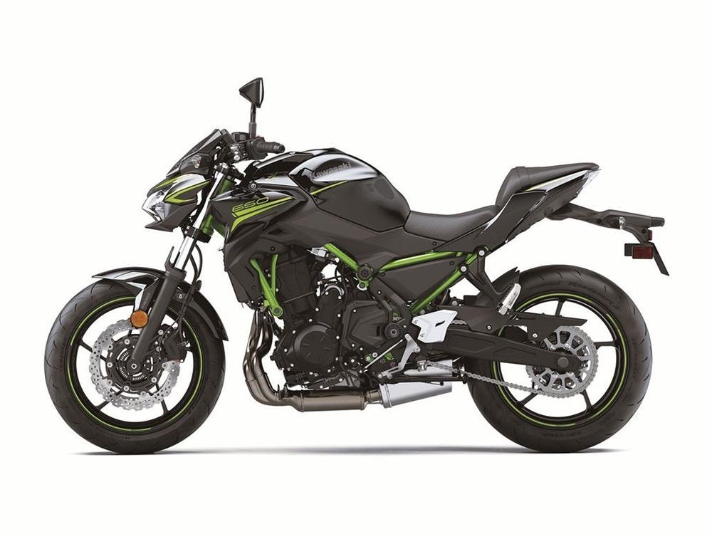 Kawasaki Z650 2020 года