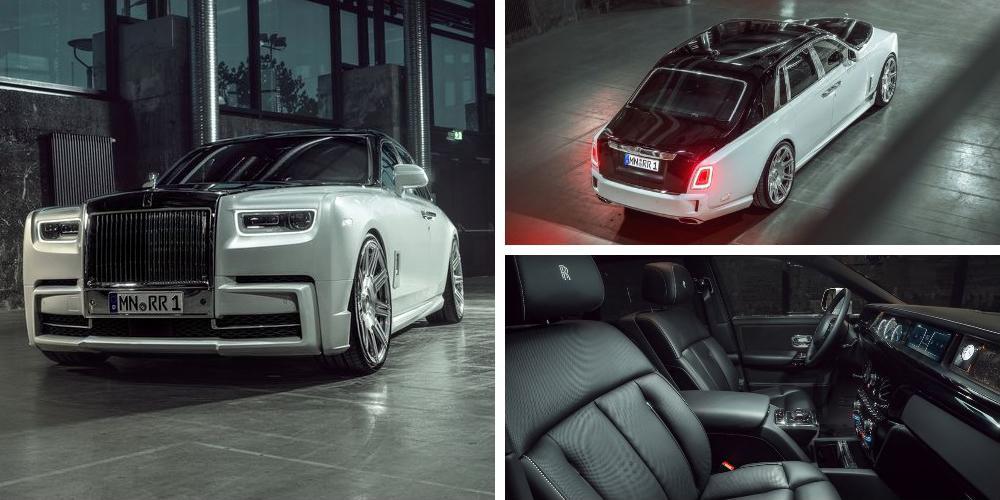Rolls-Royce Phantom by Spofec 2019 года