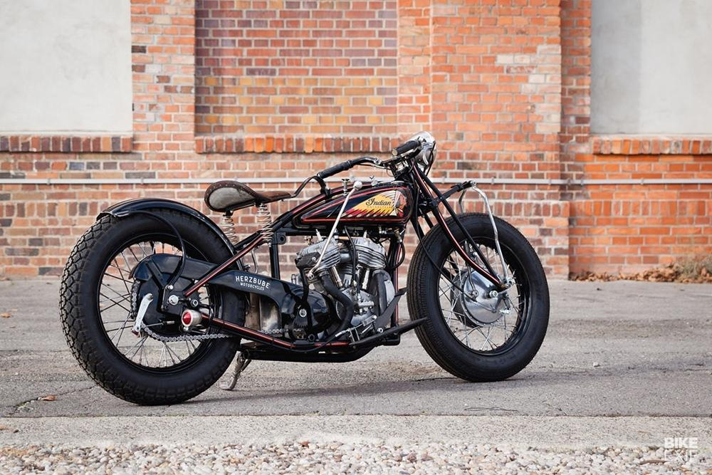 Indian Scout 101 by Herzbube Motorcycles