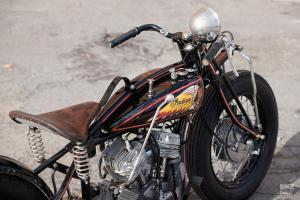 Кастомный Indian Scout 101 из 1928 года: работа Herzbube Motorcycles