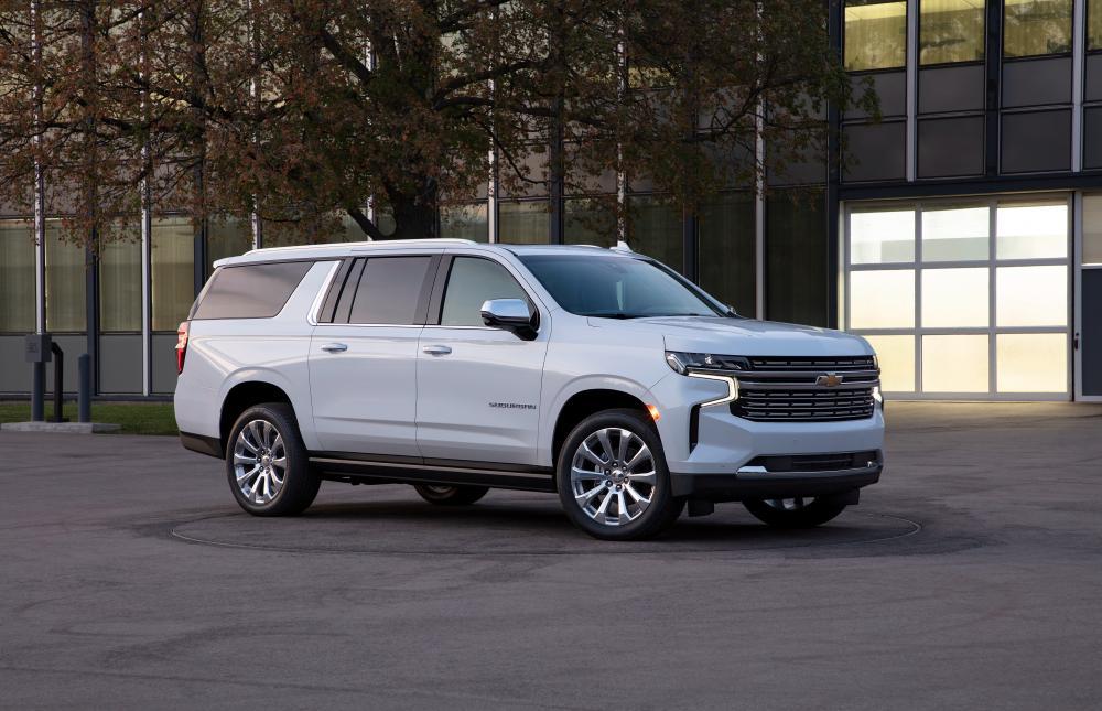 Chevrolet Suburban 2020 года