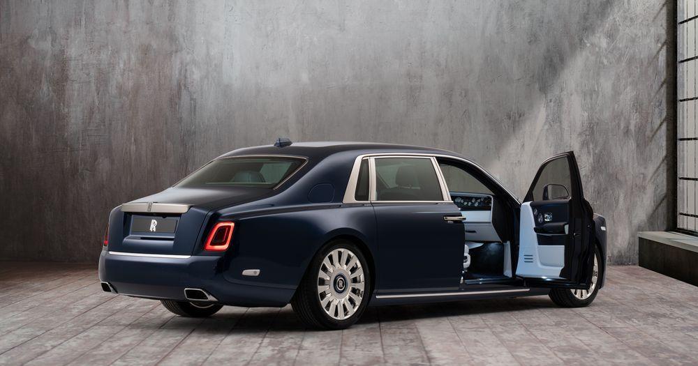 Rolls-Royce Phantom Bespoke the Million Stitch 2019 года