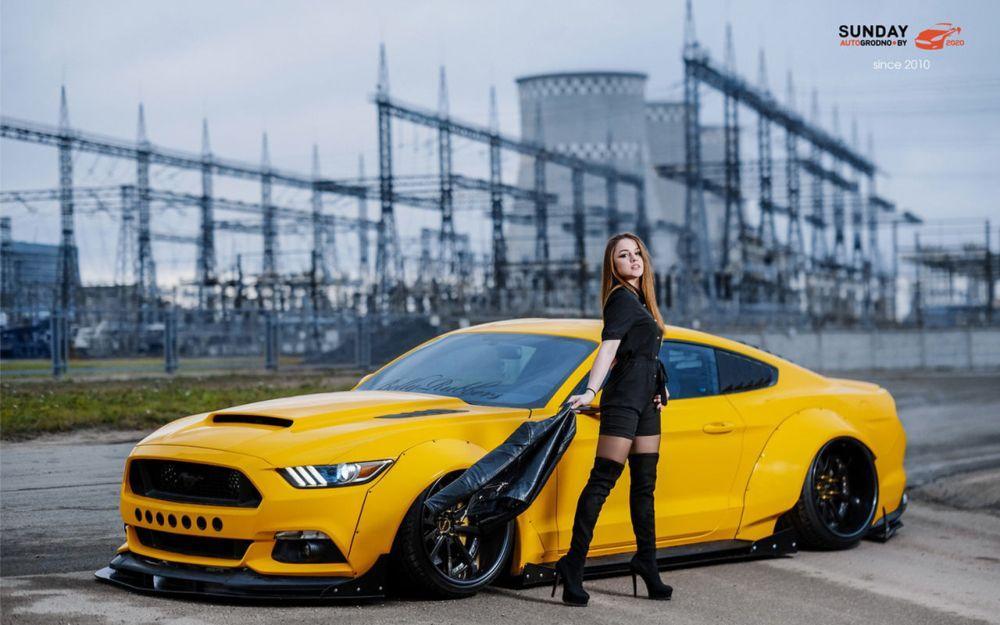 Юлия Самуйло из Новополоцка и Ford Mustang LegoBoost