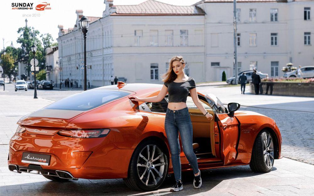 Юлия Потапчикова из Гродно и Warszawa M20 GT