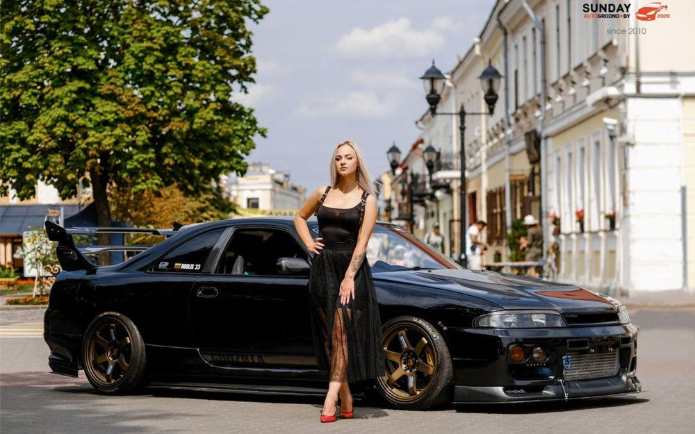Диана Бузук из Гродно и Nissan Skyline R32