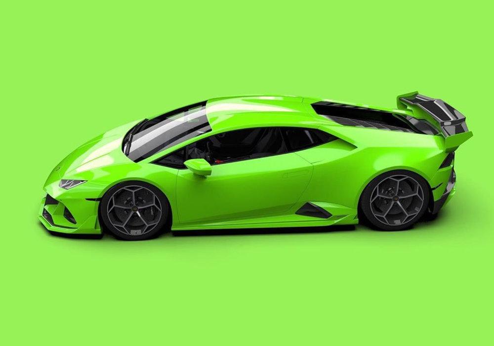 Lamborghini Huracan Evo by Vorsteiner 2020 года