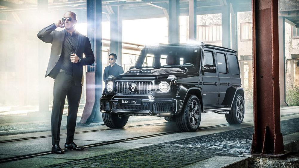 Mercedes-Benz G-Class Luxury by Invicto