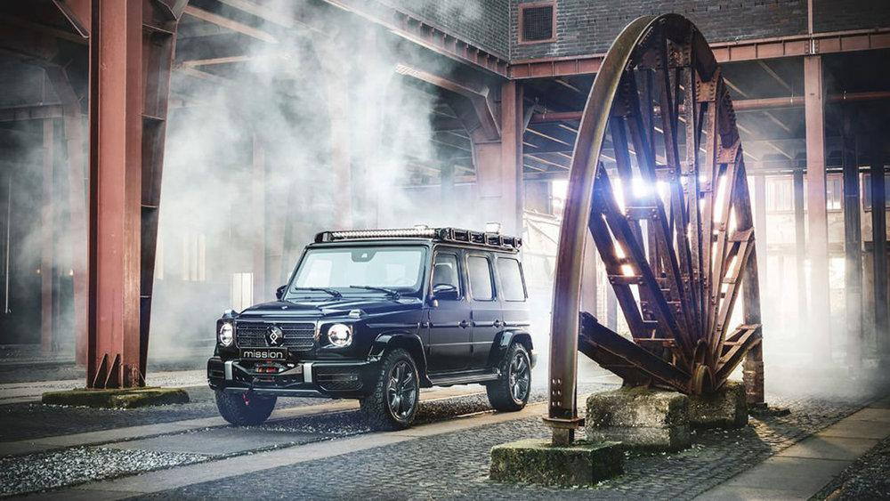 Mercedes-Benz G-Class Mission by Invicto