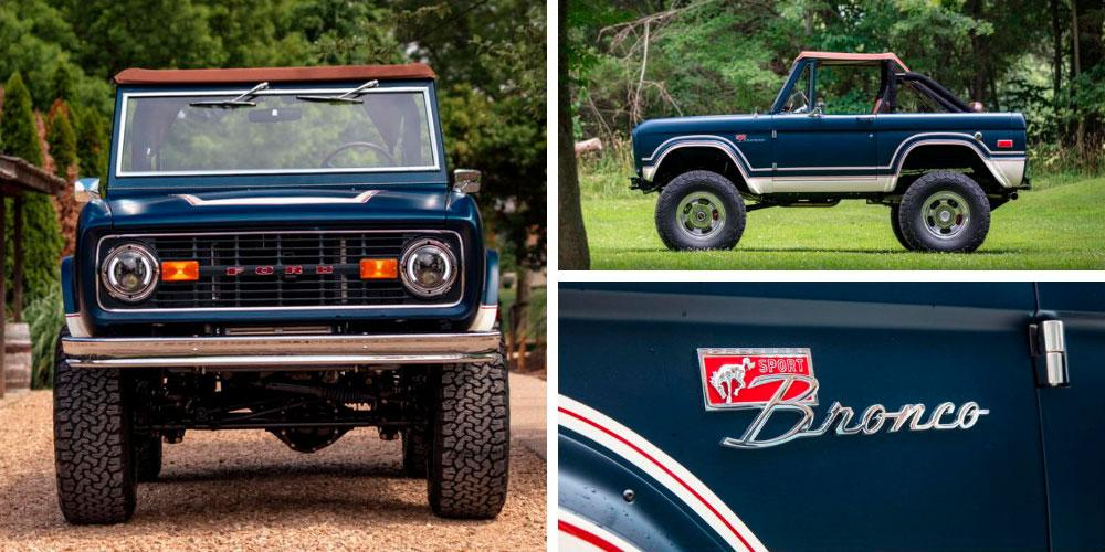 Ford Bronco Handcrafted by Gateway Bronco & Roush 2020 года