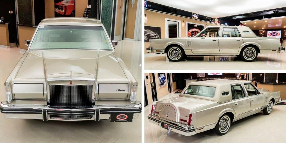 Lincoln Continental Mark VI Sedan 1980 года