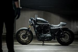 Кастомный Harley-Davidson Sportster: проект Injustice Customs