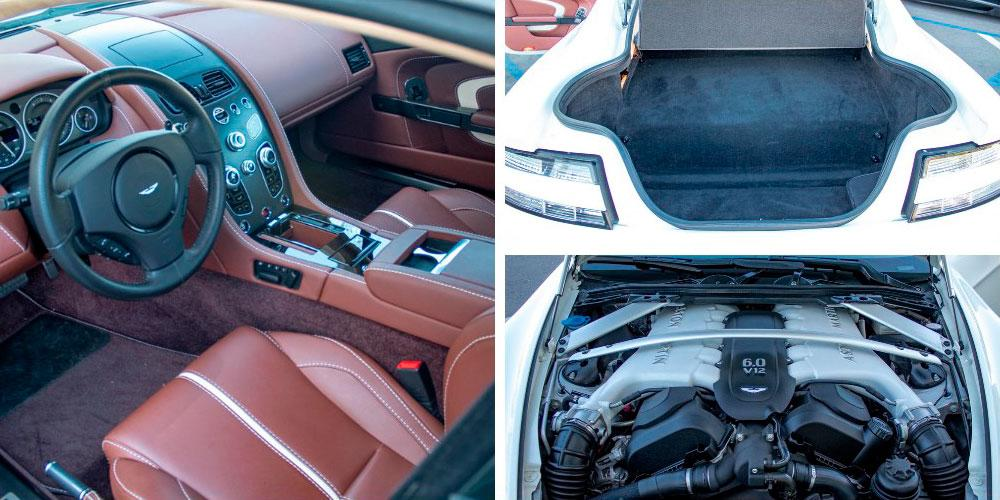 Aston Martin V12 Vantage S 2016 года