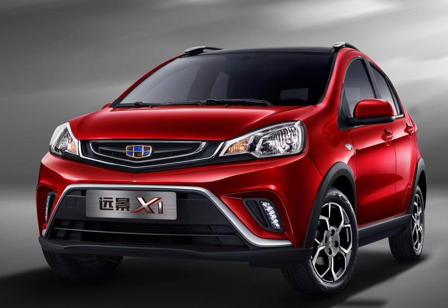Geely Vision X1 (V01) 2017 года