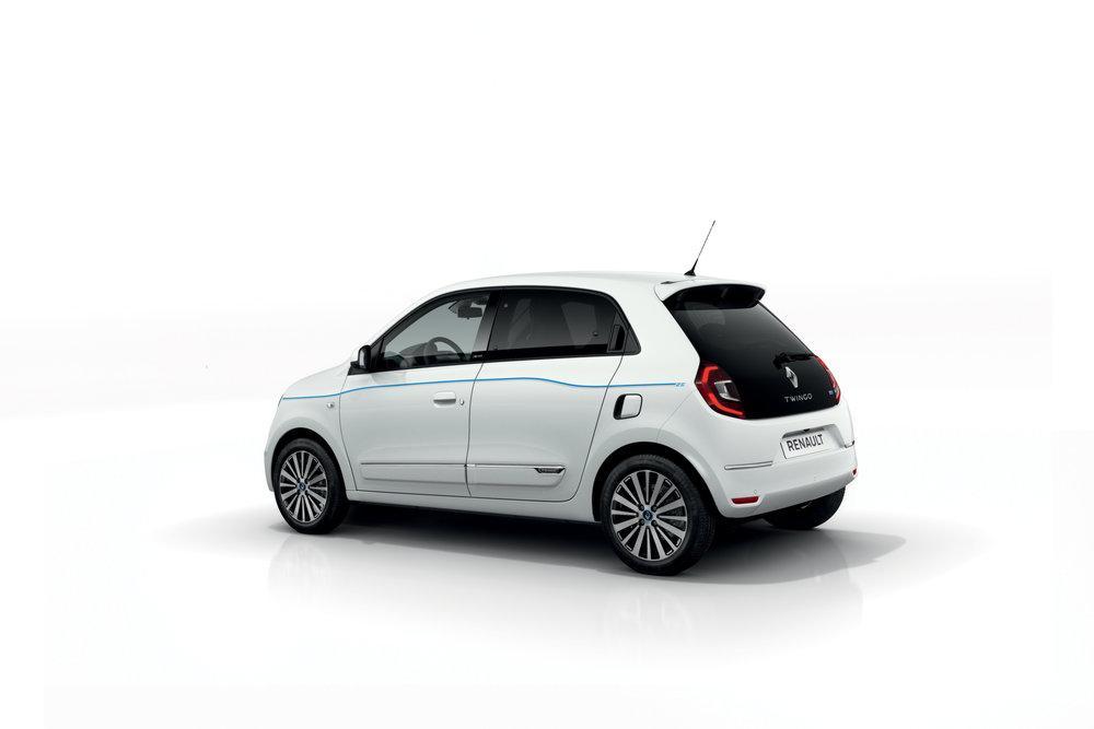 Renault Twingo Z.E. 2020 года