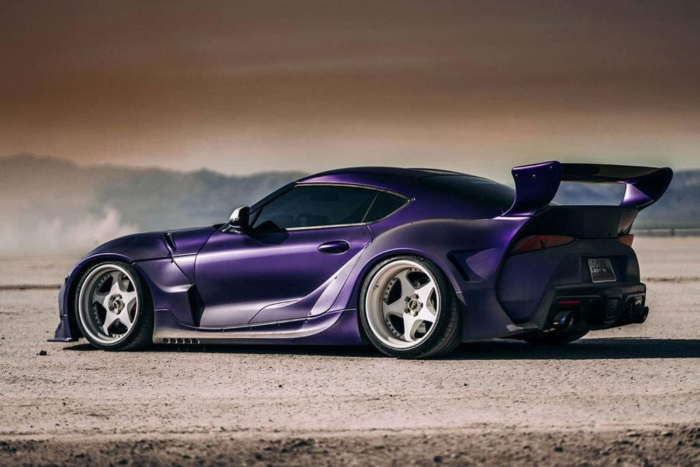Toyota GR Supra Wide Body by Pandem