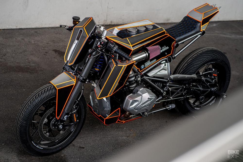 BMW R1250GS Dominator by Ironwood Custom Motorcycles