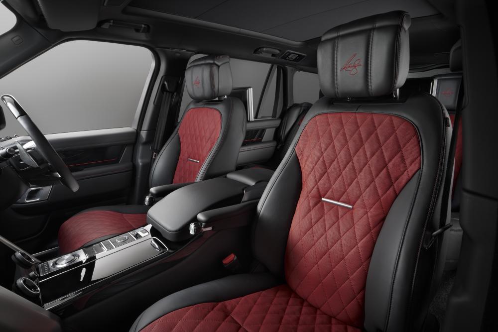 Land Rover Range Rover SVAutobiography Long для Энтони Джошуа