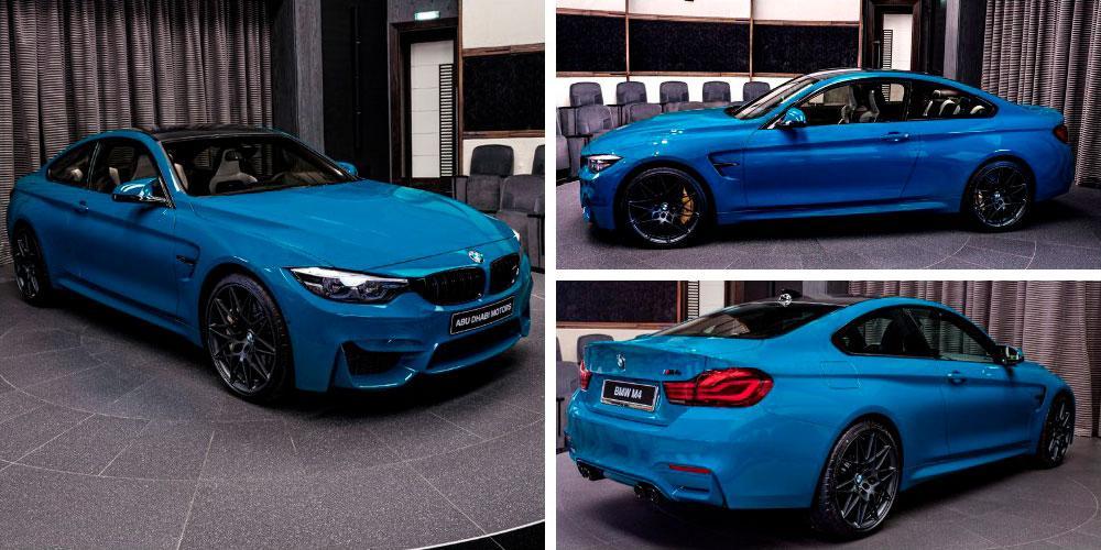 BMW M4 Coupe Edition M Heritage 2020 года, Abu Dhabi Motors