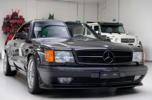 Mercedes-Benz 560 SEC 6.0 AMG Widebody 1989 года, Auto Leitner