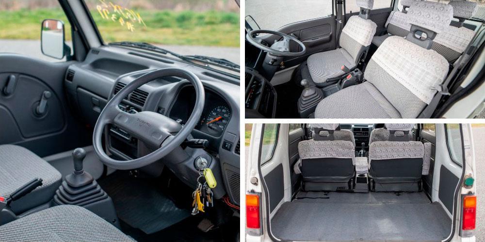 Subaru Sambar Dias Extra S 1993 года