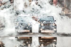 Mercedes-Benz G-Class Luxury by Invicto и Mercedes-Benz G-Class Mission by Invicto