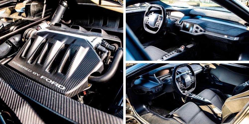 Ford GT 2018 года, H121, Bonhams