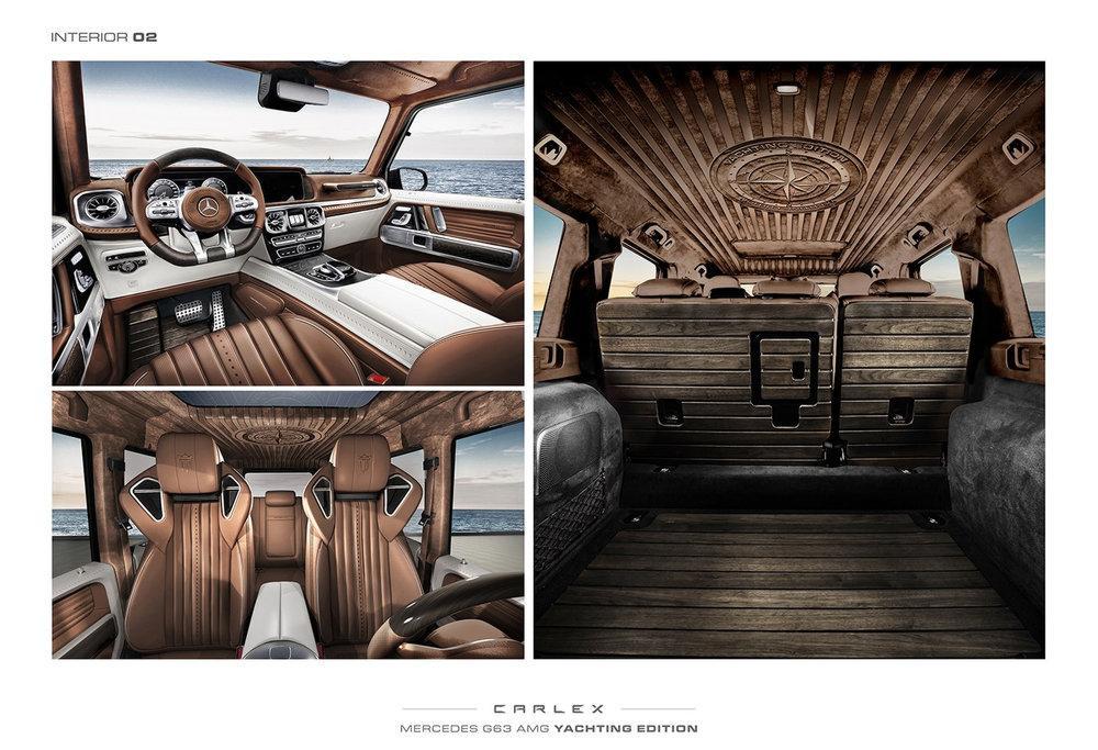 Mercedes-AMG G63 G-Yachting Limited Edition by Carlex Design