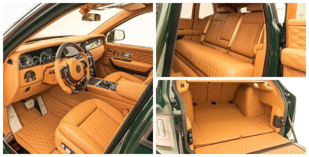 Rolls-Royce Cullinan Billionaire by Mansory 2020 года