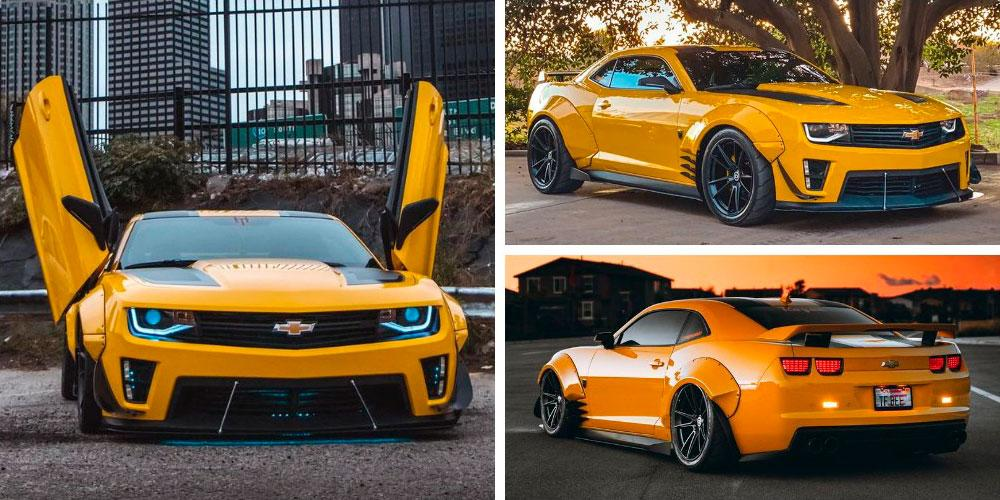 Chevrolet Camaro Bumblebee Witwicky by JDM Special on HRE Wheels