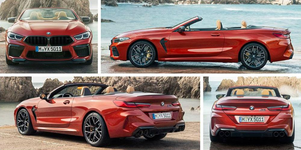 BMW M8 Competition Convertible 2019 года