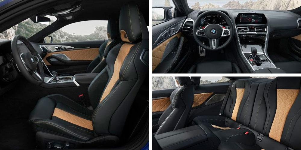 BMW M8 Competition Coupe 2019 года