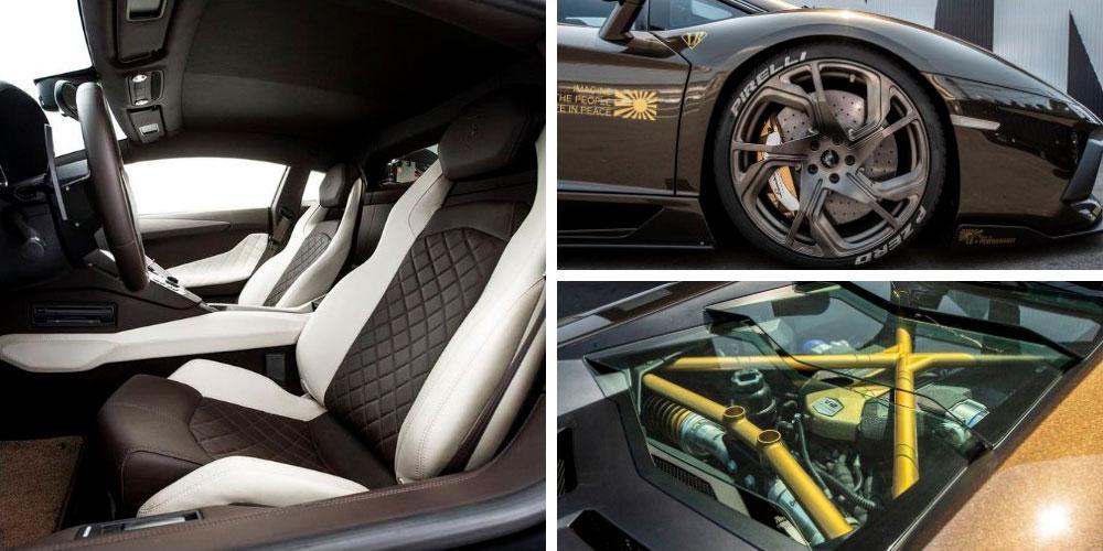 Lamborghini Aventador LP700-4 by Liberty Walk 2020 года