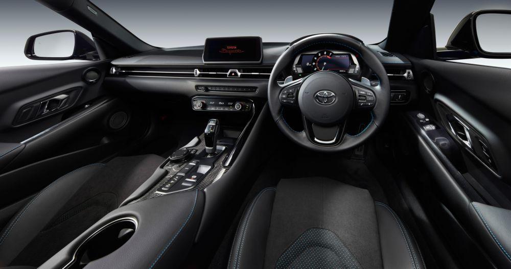 Toyota GR Supra RZ Horizon Blue Edition 2020 года